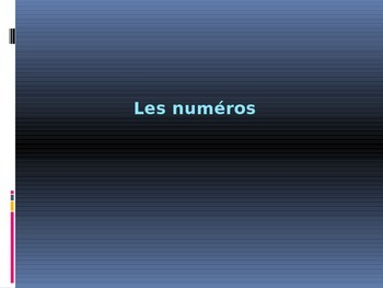 Numbers PowerPoint Practice