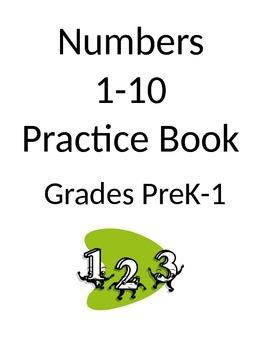 Numbers Practice Book