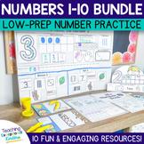 Numbers Practice Bundle | Numbers 1 - 10