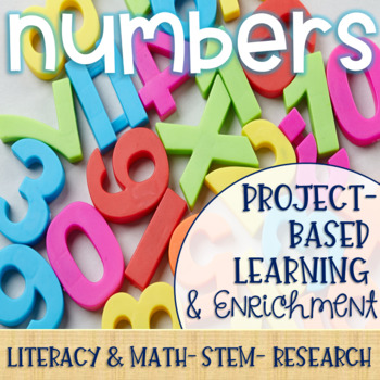 Numbers Project-Based Learning & Enrichment for Literacy, Math, STEM & Research