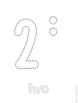 Numbers Push Pin Art