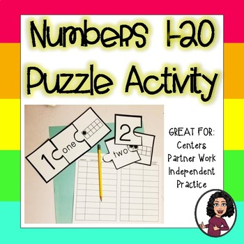 Numbers Puzzle Activity!