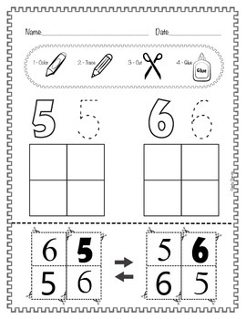 Numbers 1 to 10 - Recognition