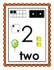 Numbers Recognition Posters 0-10