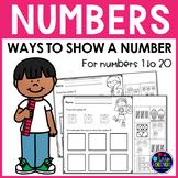 Number Sense Worksheets - Number Recognition 1-10