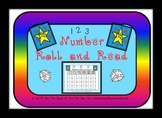 Numbers Roll and Read Center Game
