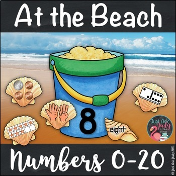 Numbers Sense Activity 0-20 At the Beach
