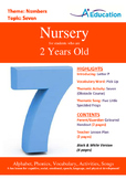 Numbers - Seven : Letter P : Pick Up - Nursery (2 years old)