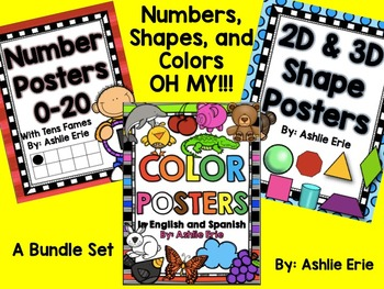 Numbers, Shapes, and Colors OH MY!