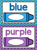 Numbers, Shapes and Colors Posters {Polka Dot Classroom De