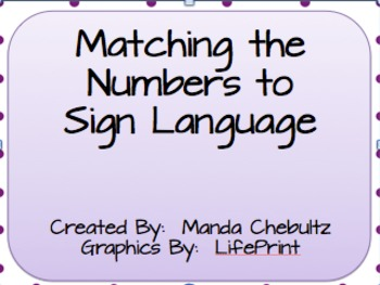 Numbers Sign Language