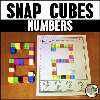 Numbers Snap Cube Worksheets 0-20