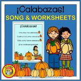 Calabazas - Spanish Pumpkin Number Song -PLUS coordinating