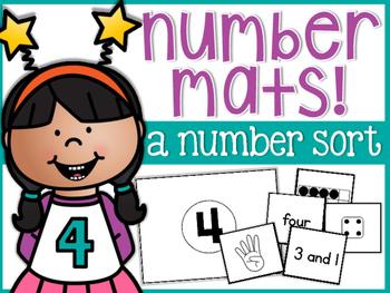 Number Sorting Mats 1-20