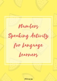 Numbers Speaking Activity