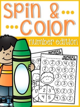 Numbers Spin and Color