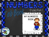 Freebie Numbers Tab Book- Numbers 1-10