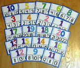 Numbers Task Cards:  Identifying Numbers 1-20