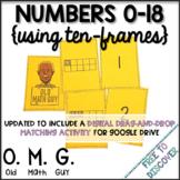 Numbers & Ten-Frames Card Game