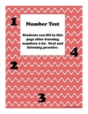 Numbers Test
