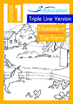 Numbers - The Farm (II) - Grade 1 (with 'Triple-Track Writ