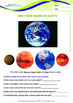 Numbers - The Four Inner Planets - Grade 3