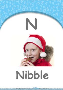 Numbers - Three : Letter N : Nibble - Nursery (2 years old)