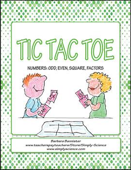 Number Sense Tic Tac Toe