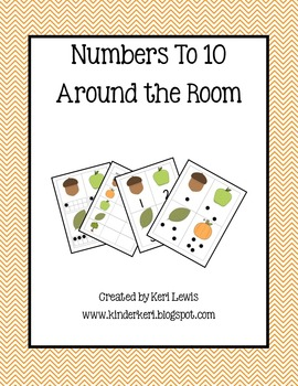 Numbers To 10 Around the Room