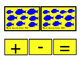 Numbers To 10 Printable Cards BLUE Fish How Many Addition Kindergarten Math 3pgs