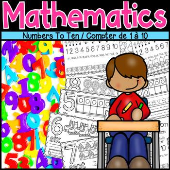 Numbers To Ten / Compter de 1 à 10