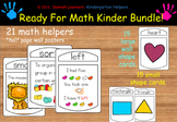Ready For Math Kinder Bundle