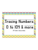 Numbers Tracer Page 0 to 104 and More