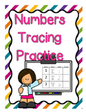 Numbers Tracing Practice