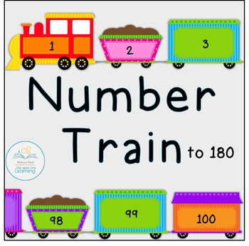 Numbers Train from 1 to 180