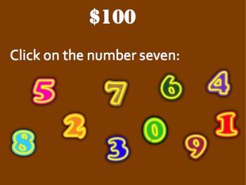 Begining Math: Numbers Trivia Game