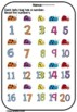 Numbers Unit: Learning and Practicing Numbers Up to 20{1-20}