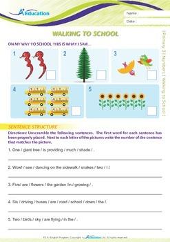 Numbers - Walking to School - Grade 3