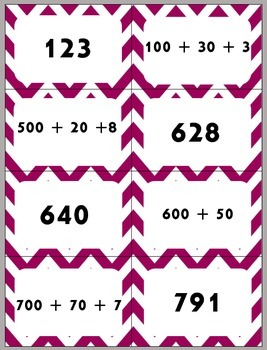 Game of Numbers War!!! Compare standard and expanded form