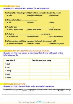 Numbers - We Use Numbers When We Measure Things - Grade 2