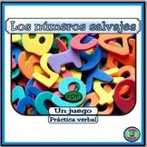 Numbers Wild Bingo Math Game - El Juego de Números Salvajes