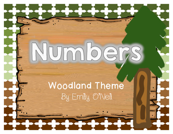 Numbers (Woodland Theme)
