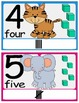 Numbers Word wall (0-30)