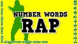 Numbers Words Rap (video)
