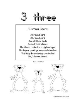 Numbers Workbook 0-10