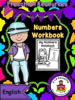 Numbers Workbook Bilingual Bundle