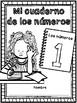 Numbers Workbook Spanish