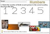 Numbers Worksheets 1-5 Preschool