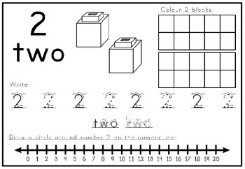 Numbers Worksheets