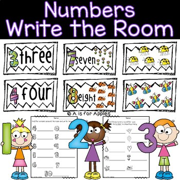 Numbers Write the Room